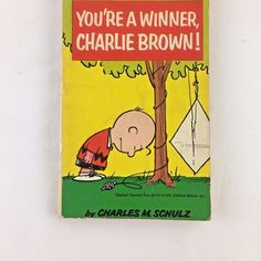 You're a Winner Charlie Brown Paperback Book Vintage Charles Schulz Peanuts 1969