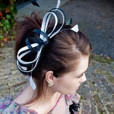 bow for your head! Sophia fascinator, $30