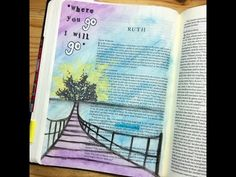 ▶ Bible Journaling - Ideas and Inspiration - YouTube