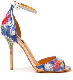 Dolce and Gabbana Hand Painted Heel