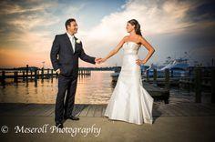 July 4th wedding, Jersey Shore wedding, Clarks Landing, Point Pleasant, NJ weddings, Russ Meseroll Photography