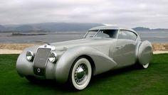 1937 Delage D8-120 S Pourtout Aero Coupe. Pure sexy.