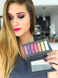 Brittany's look: Addiction Palette 5 and Skittish lip stain. Makeup Blog, Love Makeup, Beauty Makeup, Makeup Looks, Makeup Ideas, Makeup Tutorials, Makeup Tips, Younique Lip Stain, Makeup Younique