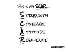 Awestomy.com is hosting a #showusyourSCAR contest! Free t-shirt for the most likes through October 1st.
