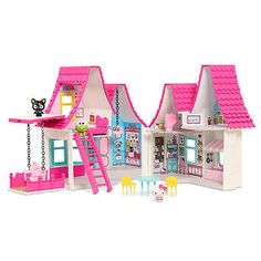 New Hello Kitty Doll House Playset Model:23645754