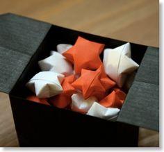 Les décorations de Noël à faire soi-même : Les étoiles chinoises du bonheur | Les Origami de Senbazuru - L'origami facile