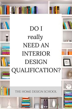 if you simply want to start up a small practice of your own, or work for a smaller local interior designer, is there any point in spending time and money to get yourself trained if there is no legal requirement to in the UK?  Click through to see our take on this.