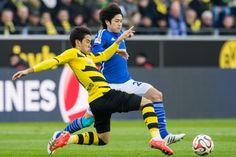 Shinji Kagawa - Borussia Dortmund - MF - #7 #SCFBVB #Bundesliga #Kagawa | Atsuto Uchida - FC Schalke 04 - #22 #S04 #Bundesliga #Soccer #Football #Uchida