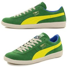 c5b7851dfb7251 1970s Puma Brasil trainers reissued in nation s colours Retro Adidas Shoes