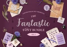 The Fantastic Font Bundle Volume 5 | Font Bundles