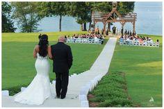 Lauren and Trae's wedding at Lake Lanier Islands Resort.