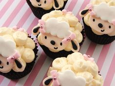 These would be lovely for a baby shower or a baby's birthday.