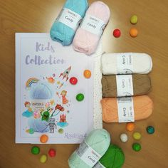 As sweet as it gets 🍬🍒🍓🍉 yarn from is a delight to knit - a cotton blend with cashmere, perfect for little ones' knits 🐤☀📦 Kids Collection, Yarns, Little Ones, Knits, Cashmere, Candy, Knitting, Sweet, Cotton