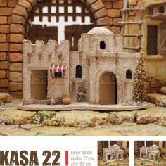 KASAS BELEN Nativity House, Christmas Nativity, Christmas Crafts, Christmas Ideas, Dory, Sweet Home, Belem, Villas, Diana