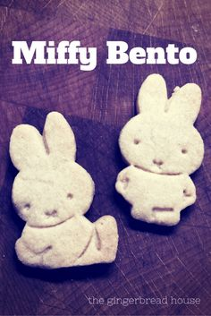 Miffy shaped biscuit