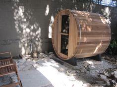 Barrel Sauna, Firewood, Mirror, Table, Image, Furniture, Home Decor, Woodburning, Decoration Home
