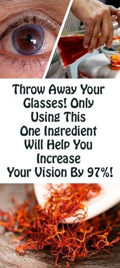 Throw Away Your Glasses: This Ingredient Will Help You Increase Your Vision By Naturally! - Health Food And Drink Health And Beauty, Health And Wellness, Health Tips, Health Fitness, Health Remedies, Home Remedies, Natural Remedies, Sante Bio, Healthy Life
