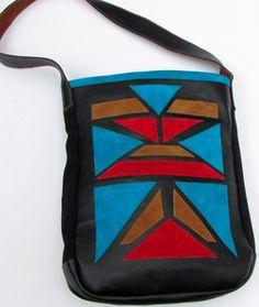 manimal Applique Tote Bag