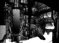 The Cyberpunk Cities of Tsutomu Nihei's Blame! Cyberpunk City, Blame Manga, Group Art, Futuristic Art, Manga Artist, Ghost In The Shell, Urban Life, Manga To Read, Reading Online