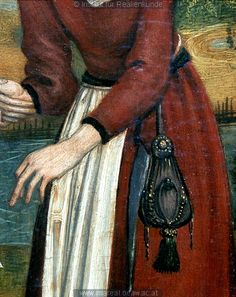 Detail from The Visitation, c. 1490-1500