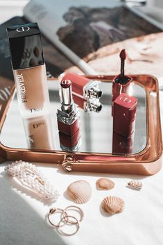 Giving, Red Lips, Amelia, Dior, Post Ad, Lipstick, Ads, Autumn, Photo And Video