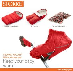 Why fit in when you were born to stand out? Stokke Winter accessories