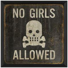 No Girls ☠ Allowed