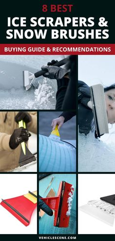 Best Ice Scrapers and Snow Brushes - A look at Top Models in 2019 Car Safety Tips, Cool Car Gadgets, Ice Scraper, Car Essentials, Car Cleaning Hacks, Car Tools, New Trucks, Car Detailing, Car Accessories