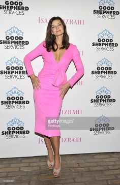 Paulina Porizkova attends the Spring Party 2012 Hosted By Isaac Mizrahi Benefiting Good Sheperd Servicesat Highline Stages on April 25, 2012 in New York City.