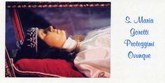 Maria Goretti, protect me everywhere! Catholic Relics, Catholic Saints, Patron Saints, Roman Catholic, Incorruptible Saints, St Maria Goretti, Selfless Love, Blessed Mother Mary, Divine Mercy