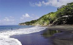 black sand beaches... Montserrat: The Caribbean's Emerald Isle