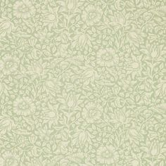 Mallow Wallpaper from Archive Collection V by Morris & Co. is a dusky pink wallpaper with a floral print of hibiscus in neutral, an elegant pattern in modern colours. Dusky Pink Wallpaper, Floral Print Wallpaper, Green Wallpaper, Fabric Wallpaper, William Morris Wallpaper, Morris Wallpapers, Morris Tapet, Chintz Fabric, Painted Rug