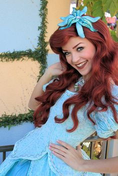 Ariel...my favorite princess  it could have something to do with her love for the water. hahha