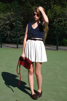 Penny Loafers Knee Socks Amp Short Skirt Geeky Stuff I