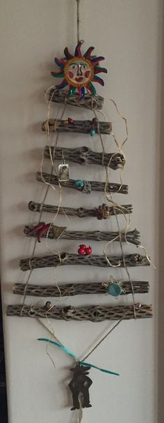 Made from Cholla wood of the desserts of New Mexico Xmas Crafts, Cute Crafts, Creative Crafts, Wood Crafts, Diy Crafts, Cactus Craft, Cactus Decor, Craft Projects, Craft Ideas