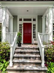 Center hall colonials front doors - Google Search