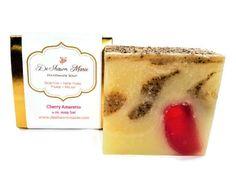 SOAP Cherry Amaretto Soap  Almond Soap  Handmade Soap