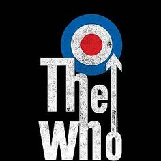The Who Target Logo Women& Sweatshirt - Black - XXL - Black-female Rock Band Posters, Rock Band Logos, The Who Band, Classic Rock Bands, Band Wallpapers, My Favorite Music, Album Covers, Rock And Roll, Cool Designs