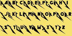 Metallica fan font