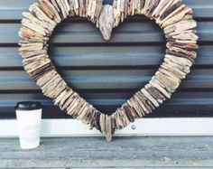 Driftwood Heart 24 by MaderaDelMar on Etsy