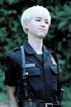 Min Yoon Gi | Suga (cute policeman )