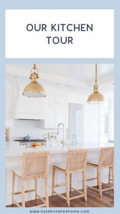 New Home Decor Ideas A tour of our kitchen | Kate Knowles Home White Marble Kitchen, Classic White Kitchen, White Kitchen Cabinets, Kitchen Cabinetry, Kitchen Paint, Kitchen Decor, White Kitchens, Kitchen Trends, Kitchen Designs