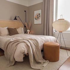 Room Ideas Bedroom, Home Decor Bedroom, Beige Walls Bedroom, Warm Bedroom, Pink And Beige Bedroom, Beige Bedrooms, Art Deco Bedroom, Mocha Bedroom, Brown Bedroom Decor