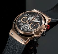 TimeZone : Industry News Dream Watches, Fine Watches, Hublot Classic Fusion, Swiss Watch Brands, Graffiti Pictures, Hublot Watches, Luxury Watches For Men, Black Rubber, Chronograph