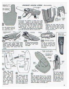 Atentico libro de consulta para artesania en cuero