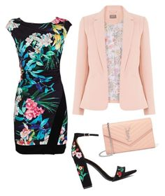 драматический стиль) by svetlanakorobicyna on Polyvore featuring polyvore fashion style Yves Saint Laurent clothing