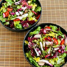 Recipe for Ottolenghi's Perfect Lettuce Salad with Radicchio, Radishes, Tomatoes, and Capers