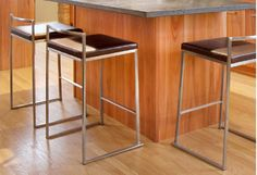 Sick of dragging dining chairs to fill that blank spot at the bar? Raise your island game with these on-budget bar stool finds. From fixed backless to three-sixty swivel, pick the style that best suits your space. Contemporary chromes create sculpture-like lines, while wood and leather constructions bring living room relaxation to the kitchen.http://www.allmodern.com/deals-and-design-ideas/Bar-Stools-From-%2443.99~E19989.html?refid=SBP.rBAZEVUMRTNJe3D_4_lnAmfF-82xIk-lr-c9dB2EcqM