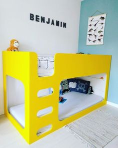 Latest Screen The 5 coolest Ikea Kura bed hacks – which one do we choose? Kura Bed Hack, Ikea Kura Hack, Ikea Hacks, Bunk Beds With Stairs, Kids Bunk Beds, Kids Beds Diy, Bunk Bed Designs, Kid Spaces, Loft Spaces
