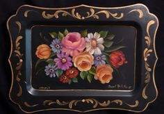 Art Apprentice Online Store - American Tray Painting - Susan Abdella, MDA, $9.95 (http://store.artapprenticeonline.com/american-tray-painting-susan-abdella-mda/)